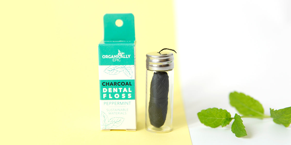 Charcoal Infused Dental Floss