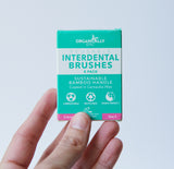 Bamboo Interdental Brushes 0.4mm size 0