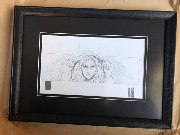 DARK ANGEL (FRAMED)