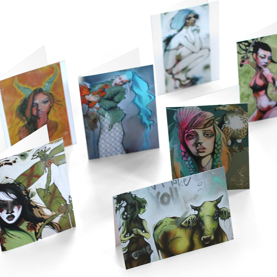 Lani Imre - 7 Set Art Cards