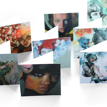 Lani Imre - 9 Art Card Square Set