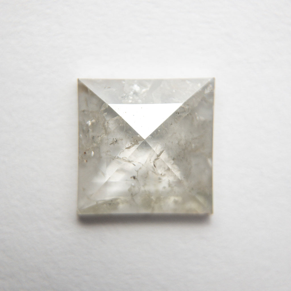 1.68ct 11.09x10.94x2.53mm Square Rosecut 18491-02