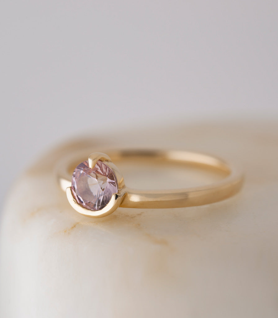 ATTIC Ring - Pink Sapphire