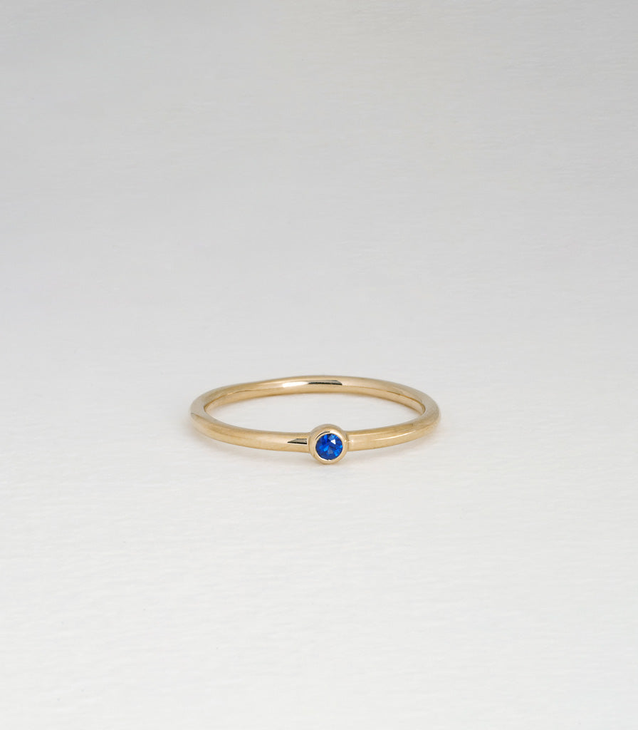 Atoll Ring - Sapphire
