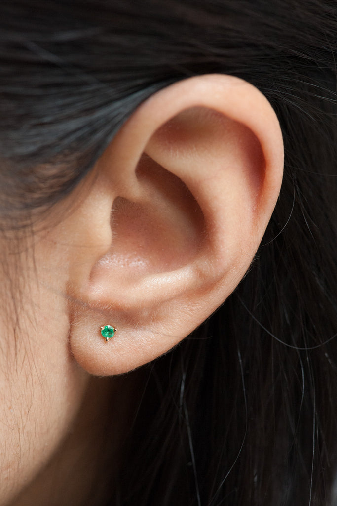 Cocktail Stud - Emerald