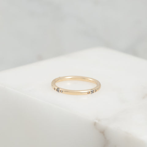 Gemstone Orbit Ring