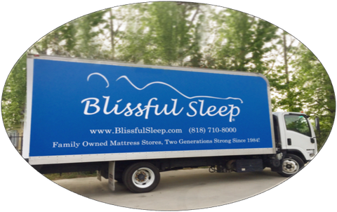Blissful Sleep Delivery Truck