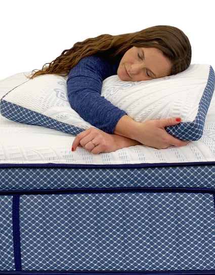Free Blissful Sleep Ventilated Cooling pillows*