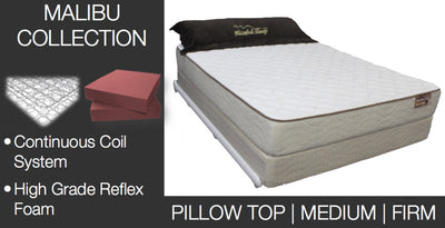Malibu Mattress Close Out Collection (While Supplies Last*)