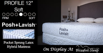 Prominence Luxury Pocket Sprung Mattress By Posh + Lavish