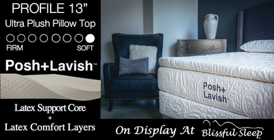 "Posh + Lavish Restore Medium  + 3"" True Pillow Top"