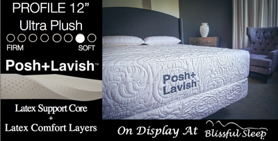 Refine All Latex Mattress By Posh + Lavish