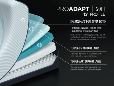Tempurpedic Pro Adapt Soft mattress