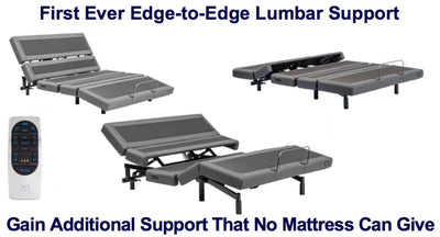Contemporary 3 Adjustable Lumbar Base