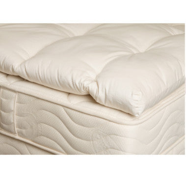 3 Quot Organic Wooly Topper Blissful Sleep