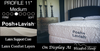 Reveal All Latex Mattress By Posh + Lavish