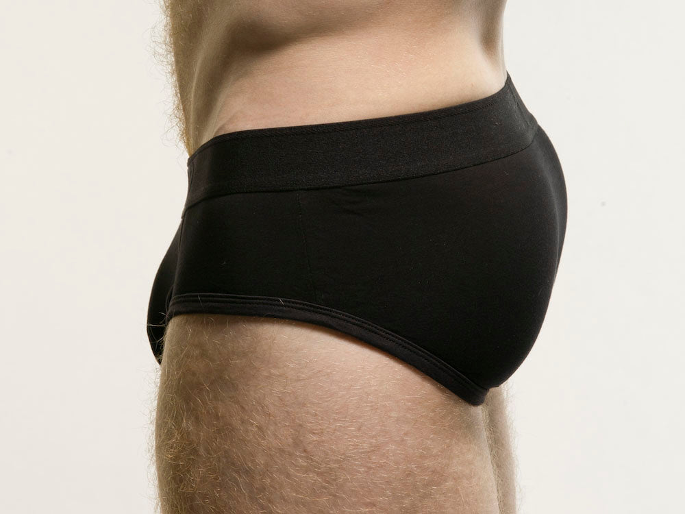 Piado Black | Black Briefs
