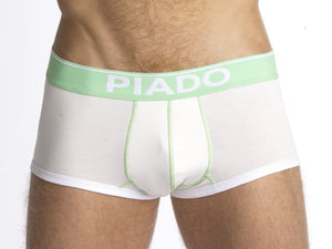 Piado - White Trunks - Affordable Designer Underwear