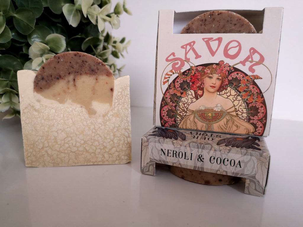 Neroli and Cocoa Natural Soap