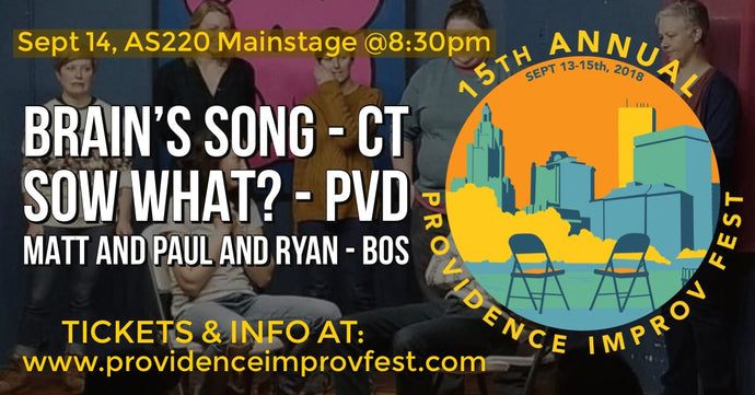FRIDAY, SEPTEMBER 14, 2018 - AS220 Mainstage at 8:30pm