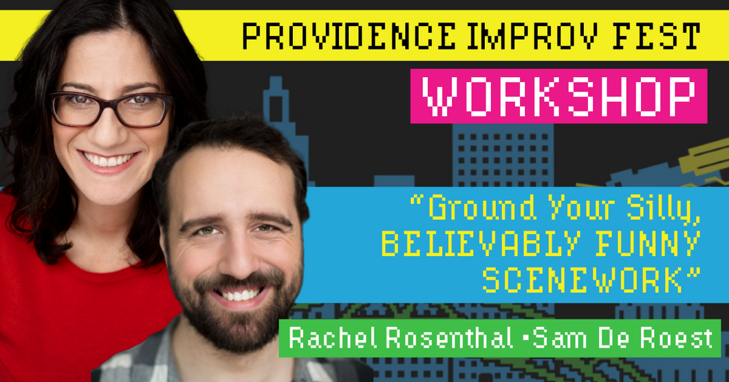 Rachel Rosenthal and Sam De Roest - Saturday, September 14, 9:45-12:15pm AS220 Mainstage