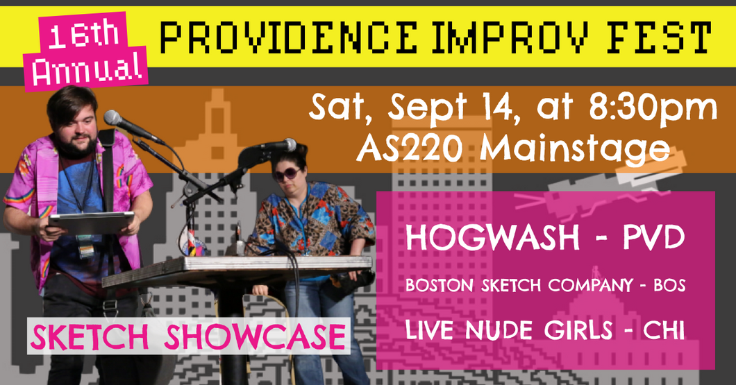 SATURDAY, SEPTEMBER 14, 2019 - AS220 Mainstage at 8:30pm