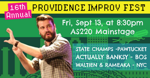 FRIDAY, SEPTEMBER 13, 2019 - AS220 Mainstage at 8:30pm