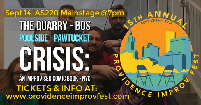 FRIDAY, SEPTEMBER 14, 2018 - AS220 Mainstage at 7pm