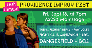 FRIDAY, SEPTEMBER 13, 2019 - AS220 Mainstage at 7pm