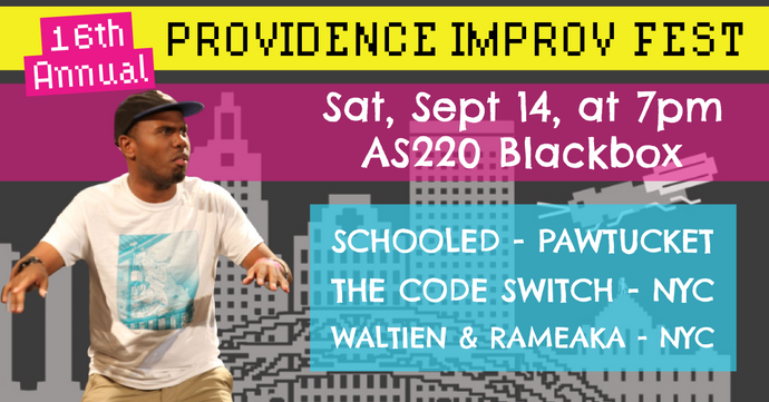 SATURDAY, SEPTEMBER 14, 2019 - Blackbox at 7pm