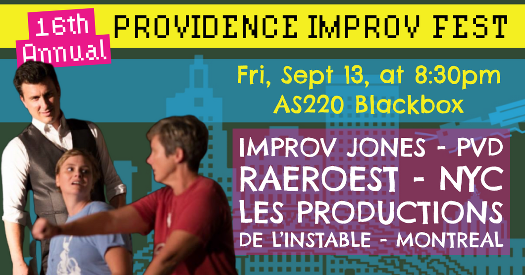 FRIDAY, SEPTEMBER 13, 2019 - Blackbox at 8:30pm