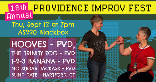 THURSDAY, SEPTEMBER 12, 2019 - AS220 Blackbox at 7pm