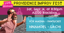 SATURDAY, SEPTEMBER 14, 2019 - Blackbox at 8:30pm