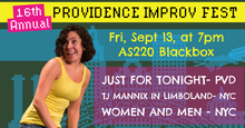 FRIDAY, SEPTEMBER 13, 2019 - Blackbox at 7pm
