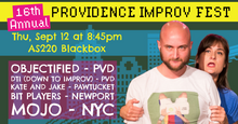 THURSDAY, SEPTEMBER 12, 2019 - Blackbox at 8:45pm