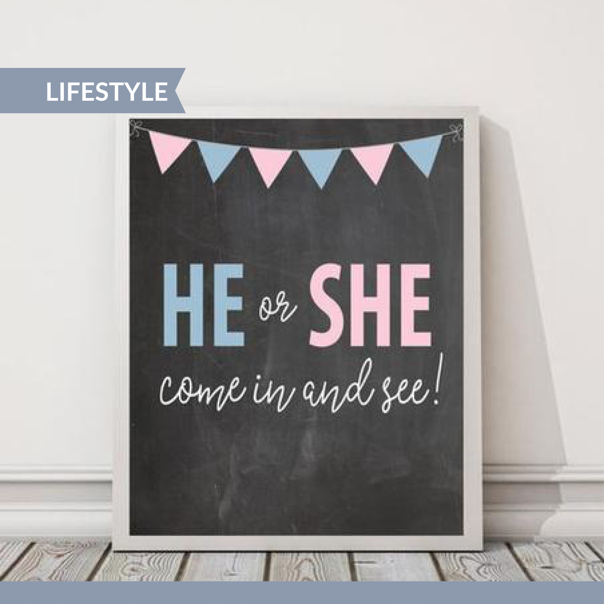The Big Reveal: Gender Reveal Party Supplies & Inspirations