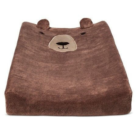 cute baby changing pad cover for teddy bear themed nursery
