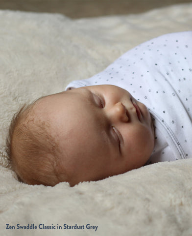 Zen Swaddle helps with 4 month sleep regression
