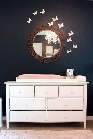 Pretty In Blush Pink Nursery Inspiration Nested Bean