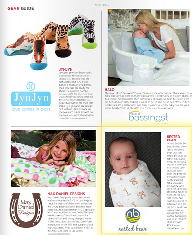 Zen Swaddle in Earnshaw's Magazine Gear Guide Section