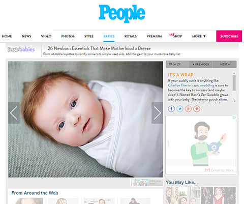 People.com's Zen Swaddle Review