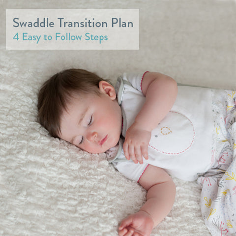 Swaddle Transition Plan - 4 Easy to Follow Steps