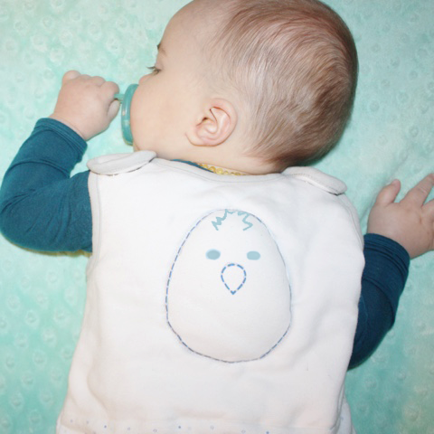 Baby Rolled Over - Reversible Sleep Sack