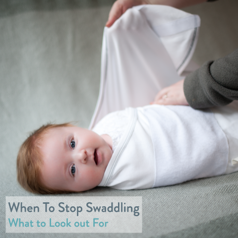 When to Stop Swaddling a Baby