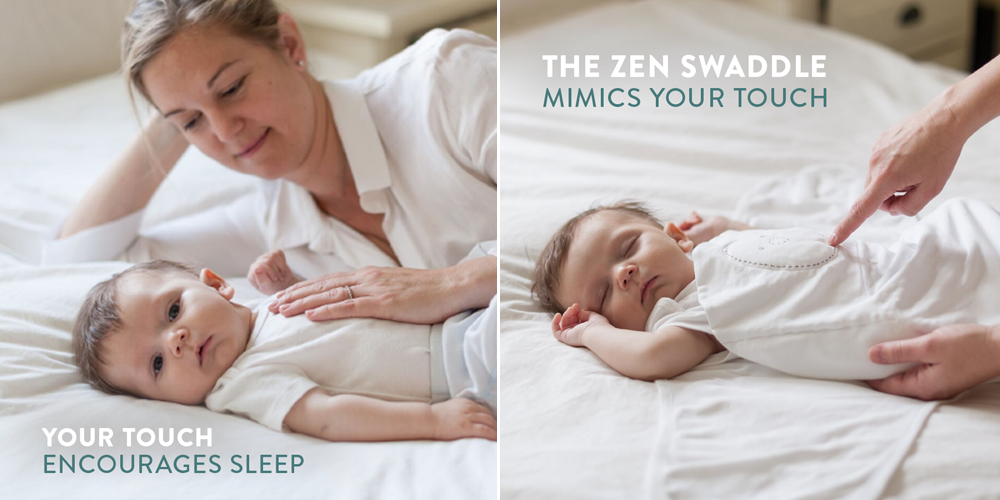 Zen Swaddle mimics touch