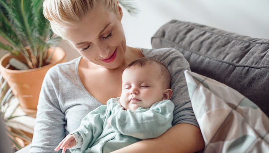 Zen Sleepwear helps moms get better sleep too