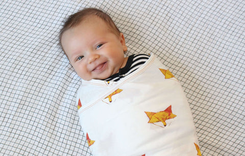 Zen Swaddle Premier in Friendly Fox