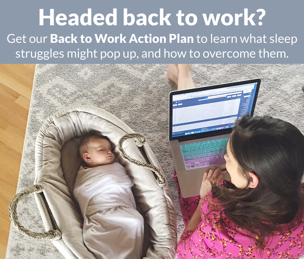 Headed back to work? Get our Back to Work Action Plan to learn what sleep struggles might pop up, and how to overcome them.
