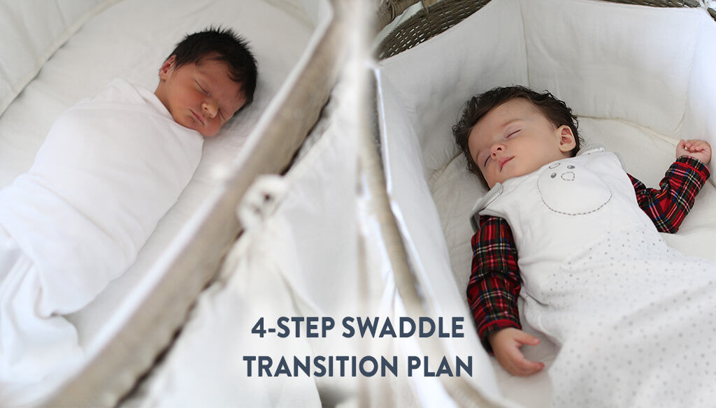 4 Steps to Transition from Swaddling to a Wearable Blanket