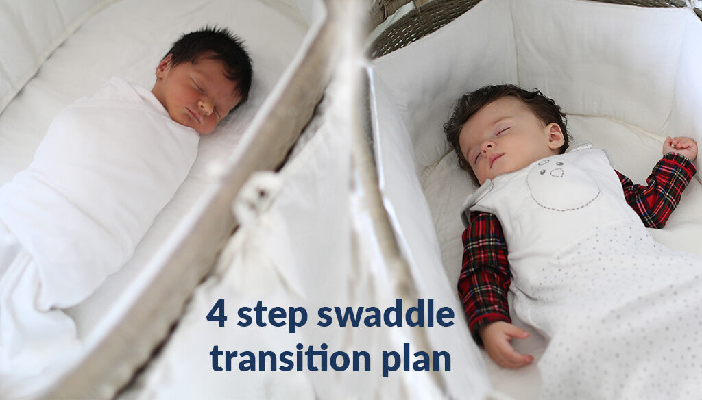 4-Step Swaddle Transition Plan – When It's Time To Stop Swaddling (updated  2019)– Nested Bean